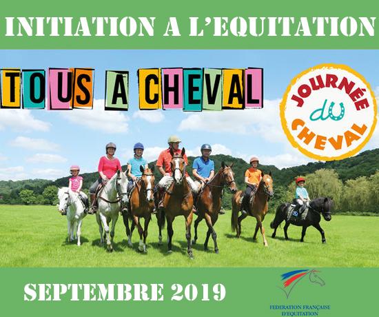 Journée du cheval Initiation Equitation FFE