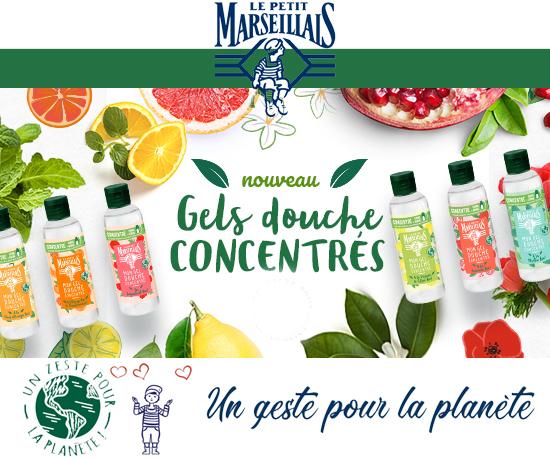 Le Petit Marseillais gels Douche Concentrés