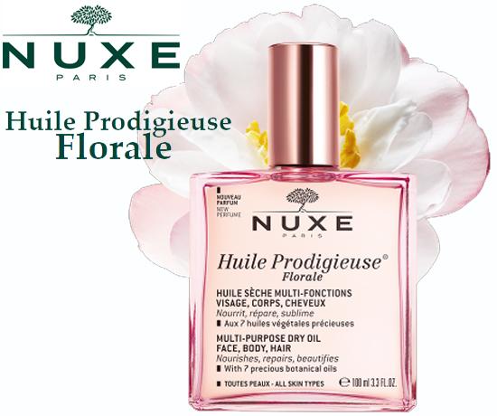 échantillon gratuit Nuxe, huile prodigieuse florale