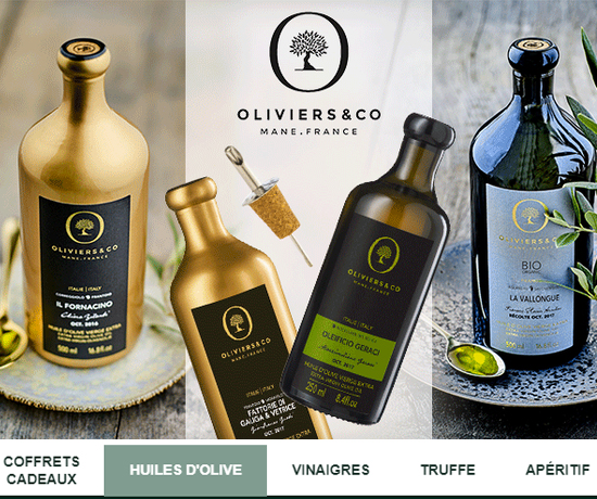 Jeu Concours : Oliviers&Co – Huiles d'olive