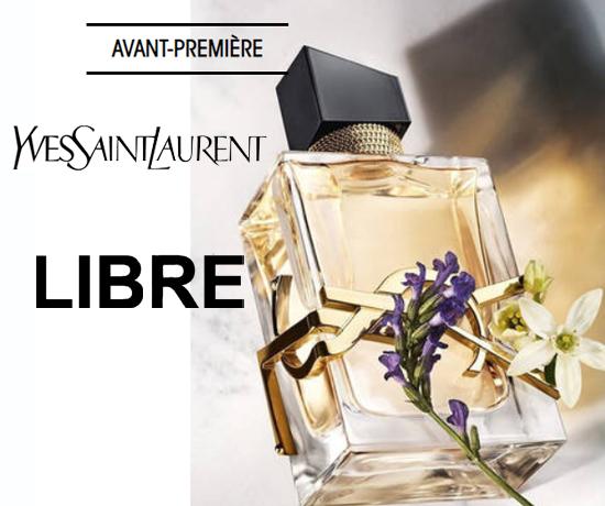 Echantillon Gratuit : Yves Saint Laurent – Eau de Parfum Libre