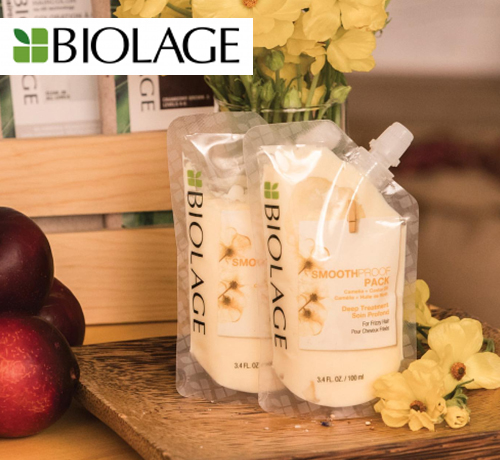 Test Gratuit : Biolage – SmoothProof Pack