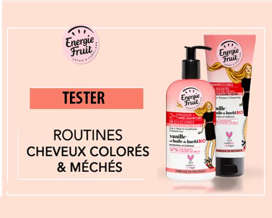 Test Gratuit : Kit soin cheveux – Energie Fruit