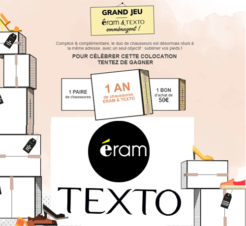 chaussures de la marque Eram & Texto