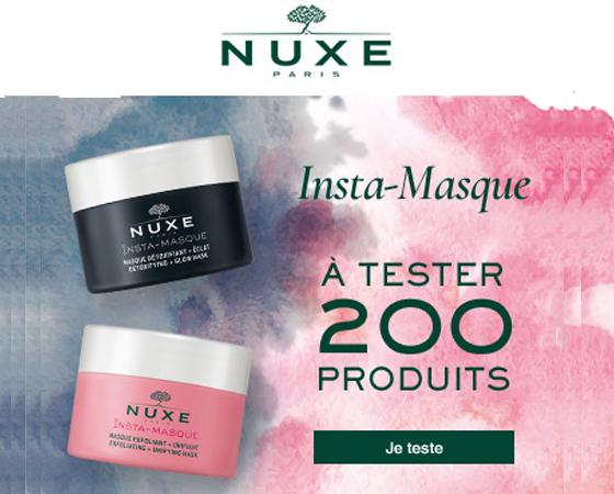 Test Gratuit : Masques beauté – Nuxe