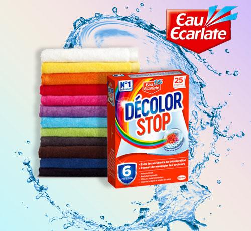Lingettes anti-décolorations Décolor Stop OFFERTES Par Tous-Testeurs