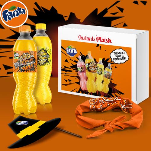 Box Dégustation Halloween de la marque Fanta