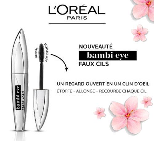 Mascara bambi eye Faux Cils de la marque L'Oréal Paris