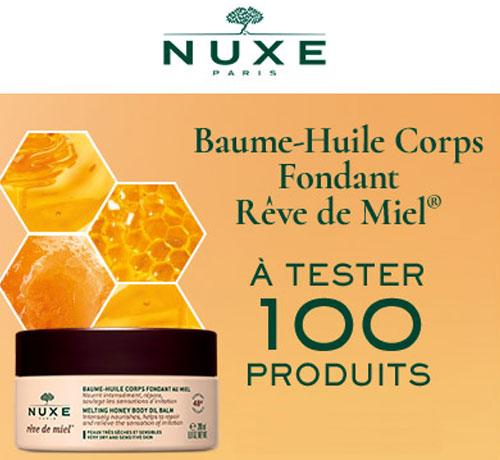 Baume-Huile hydratant Corps Fondant au Miel Rêve de Miel de la marque Nuxe