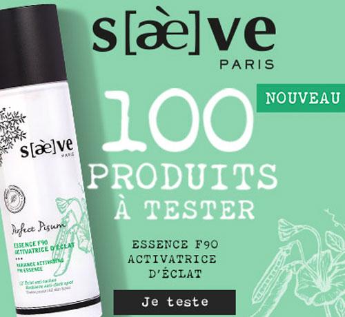 Soin pour le visage saeve Essence activatrice d'éclat de la marque Saeve