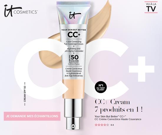 Crème correctrice CC+ teintée de la marque It Cosmetics