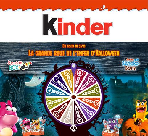 Jeu Concours : Kinder - Grande roue d'Halloween