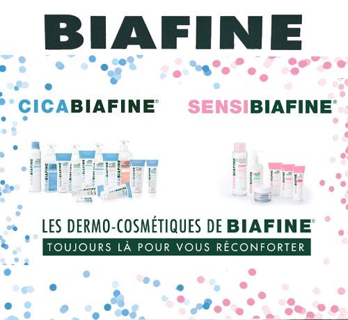 Dermo-Cosmétiques de la marque Biafine