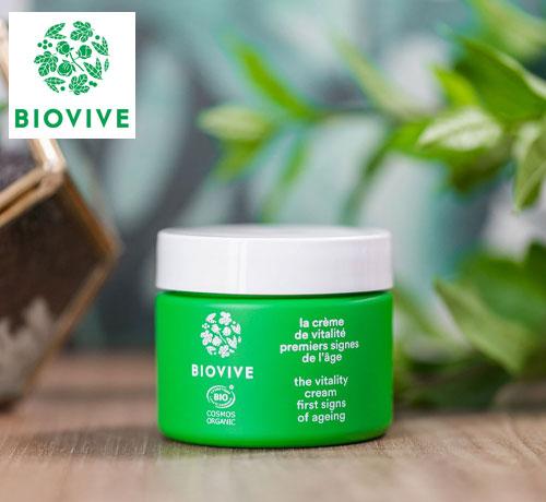 Crème vitalité de la marque Biovive