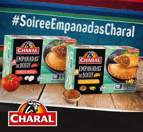 Kit Empanadas au boeuf de la marque Charal