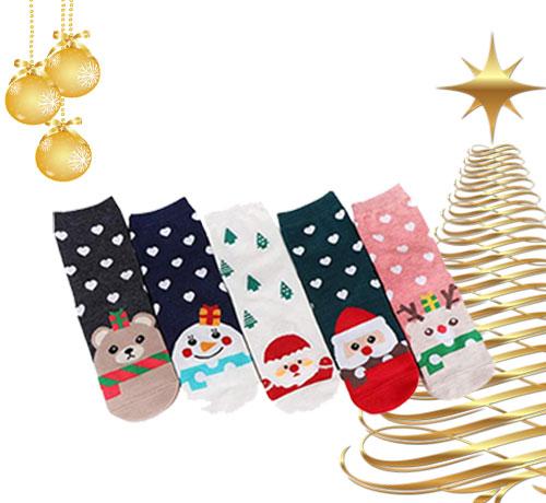 Chaussettes de Noël offertes par Tous-Testeurs