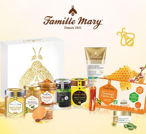 Box Miel de la marque Famille Mary