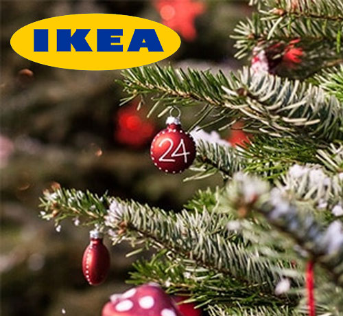 bon plan gratuit avec Le Sapin de Noël de IKEA