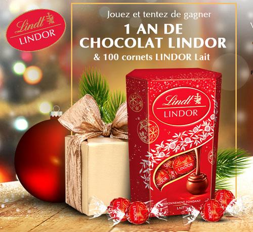 Chocolat de la marque Lindt