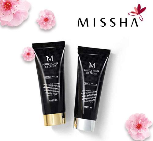 BB Crème Perfect cover de la marque Missha
