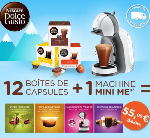 La Machine à café Mini Me de la marque Nescafé Dolce Gusto