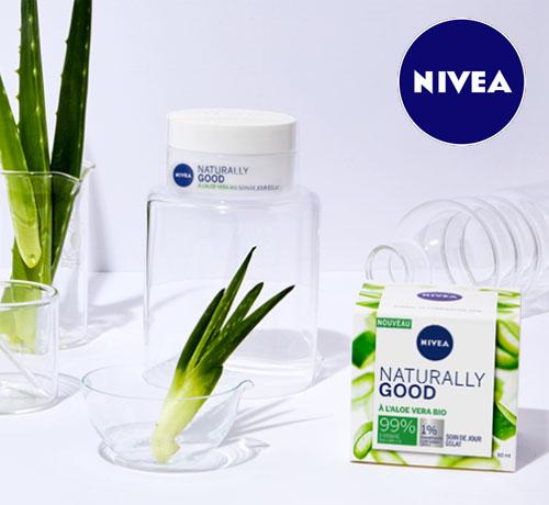 nouvelle Gamme Naturally Good de la marque Nivea