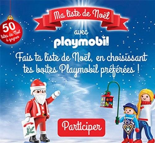 Jeu Concours Playmobil Liste De Noel Tous Testeurs
