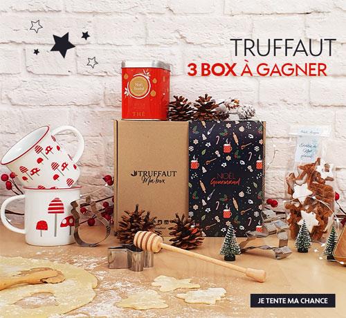 Box de Noël de la marque Truffaut