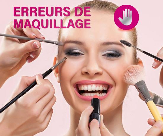 Erreurs de maquillage à éviter