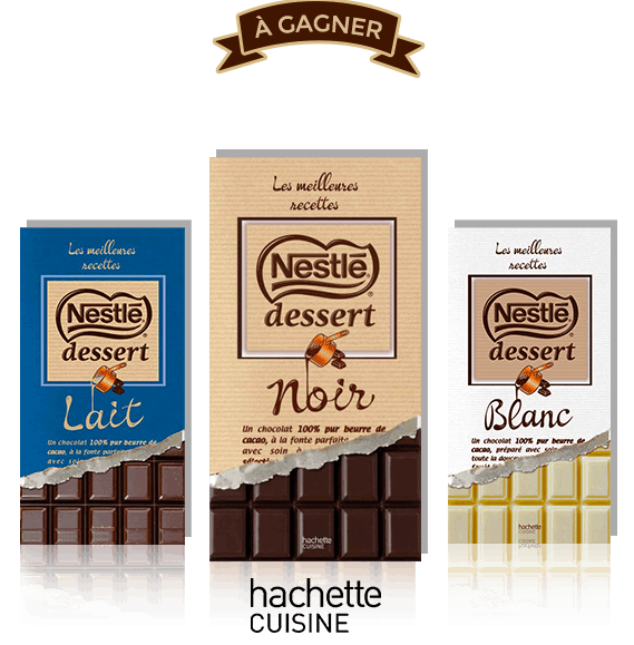 Livres de Recettes Chocolat la marque Nestlé Dessert