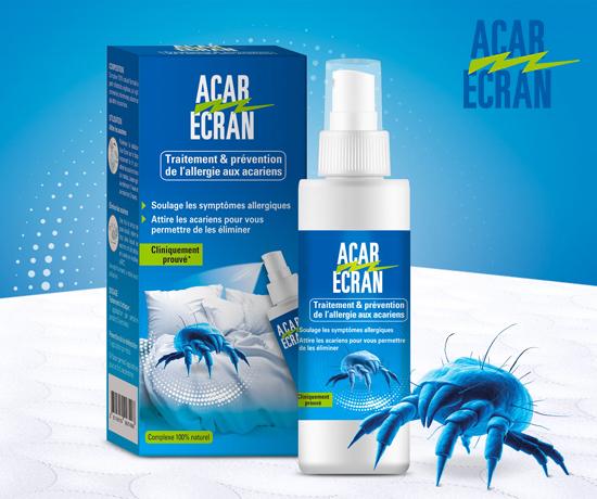 Traitement anti acariens de la marque Acar Ecran