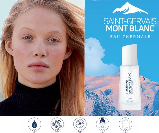 Essence de la marque Saint-Gervais Mont Blanc
