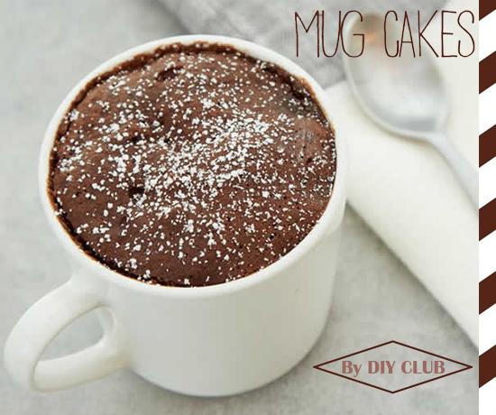 Recette Mug Cake par la chaîne Youtube DIY Club
