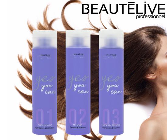 Trio de Soins Yes You Can Do pour cheveux de la marque Beautélive