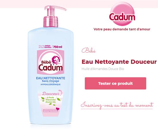 Eau Nettoyante Douceur de la marque Cadum