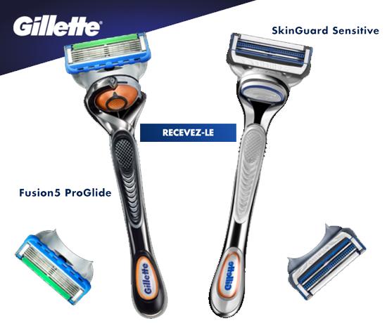 Rasoirs de la marque Gillette
