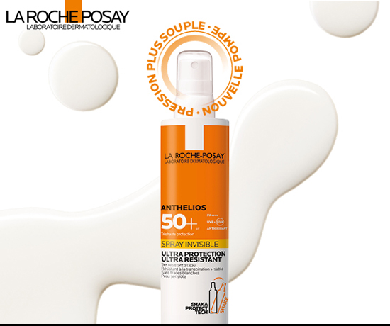 Anthelios Spray Invisible de la marque La Roche Posay