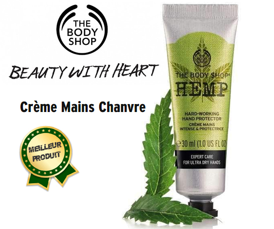 Crème Mains hydratation HEMP de la marque The Body Shop