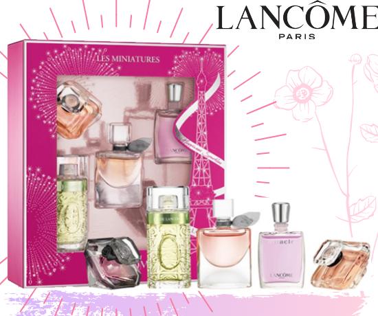 Coffrets de Parfums de la marque Lancôme OFFERTS Par Tous-Testeurs