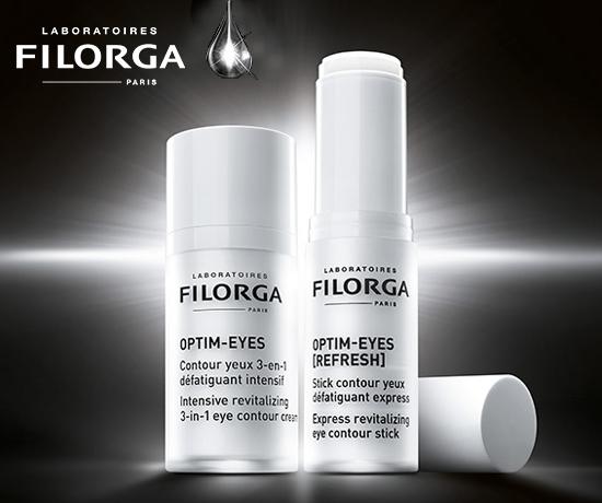 Soin Optim Eyes Contour des yeux 3 en 1 de la marque Laboratoires Filorga