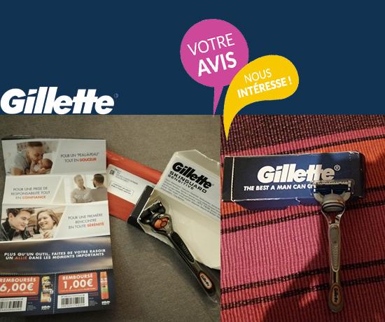 Témoignage et Avis sur les rasoirs de la marque Gillette