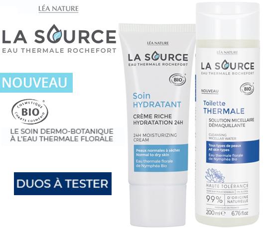Duo de Soins et de Toilette de la marque La Source des Laboratoires Léa Nature
