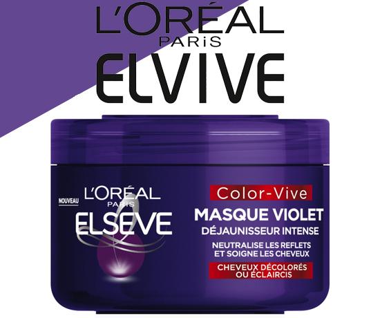 Masque Violet de la marque L'Oréal Paris Elsève