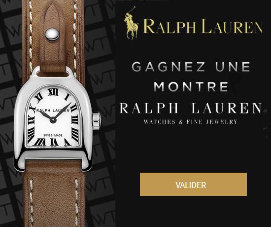 Montre Stirrup Mini Acier de la marque Ralph Lauren