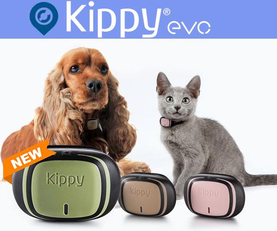 KippyEVO GPS et Moniteur d'Activité pour chiens et pour chats de la marque