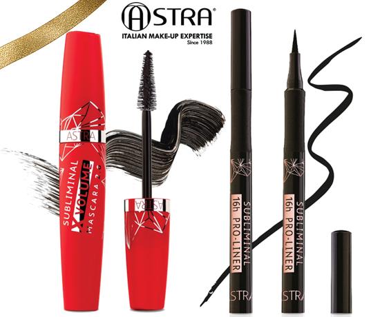 Duo Maquillage pour les yeux de la marque Astra Beauty