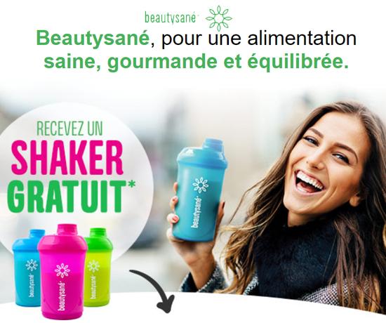 Shaker Gratuit de la marque Beautysané