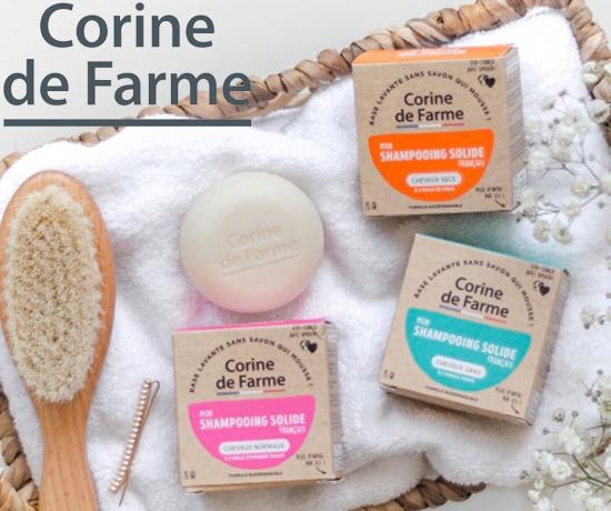Shampoing Solide de la marque Corine de Farme