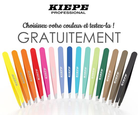 Pince à épiler de la marque Kiepe K-Tweezer