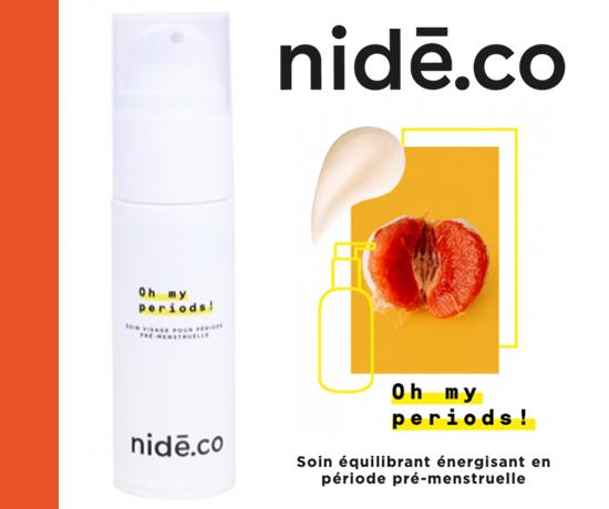 Soin Oh My Periods équilibrant et énergisant en période pré-menstruelle de la marque Nidé.co